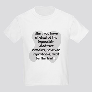 Eliminated the impossible Kids Light T-Shirt