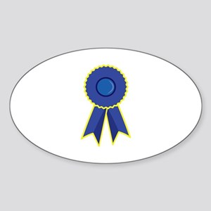 Blue Ribbon Sticker