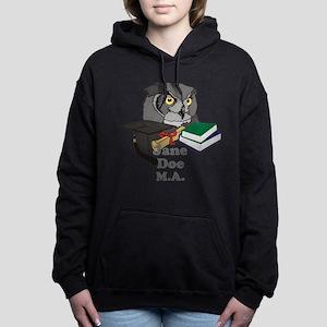 Custom Owl Graduate Women's Hooded Sweatshirt
