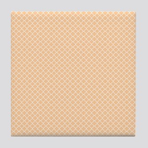 Park Avenue Peach Tile Coaster