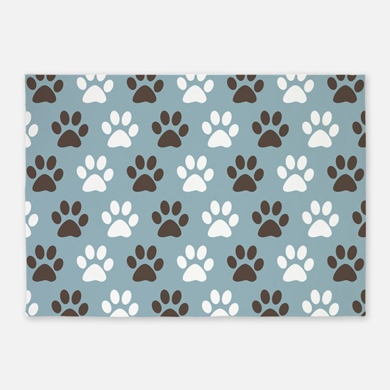 Top Dog Paw Print Rugs - Area Rug Ideas RR14