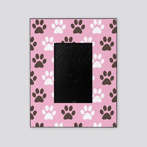 Paw Print Pattern Picture Frame