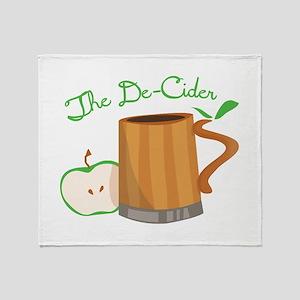 The De-Cider Throw Blanket