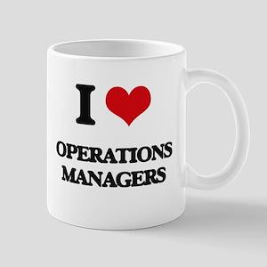 I love Operations Managers Mugs