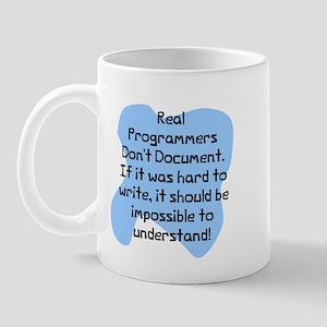 Real programmers Mug