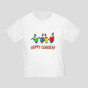 Dancing Dreidels Hanukkah T-Shirt