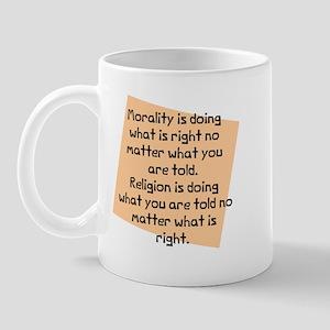 Morality is doing Mug