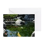 Koi Pond Greeting Cards (Pk of 10)
