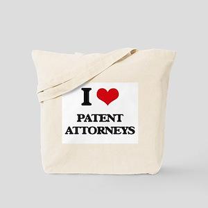 I love Patent Attorneys Tote Bag