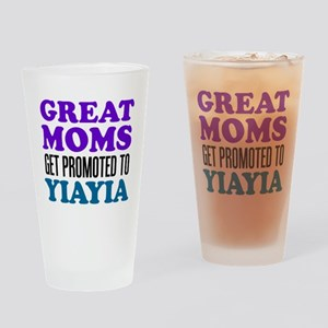 Promoted To YiaYia Drinkware Drinking Glass