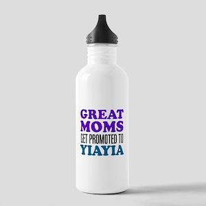 Promoted To YiaYia Drinkware Water Bottle