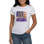 W2 President George W Bush Women's T-Shirt