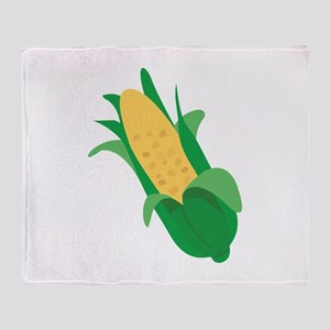 Ear Of Corn Throw Blanket