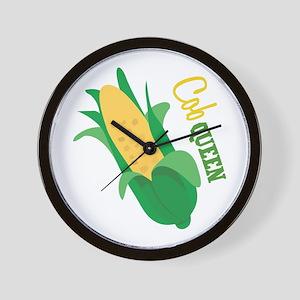 Cob Queen Wall Clock