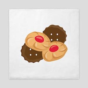 Holiday Cookies Queen Duvet