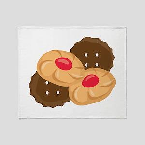 Holiday Cookies Throw Blanket