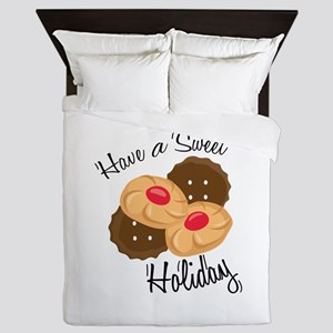 Have A Seat Holiday Queen Duvet