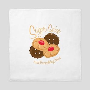 Sugar Spice Queen Duvet