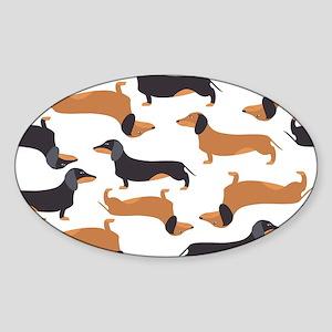 Cute Dachshunds Sticker