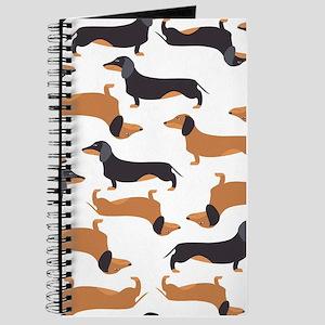 Cute Dachshunds Journal