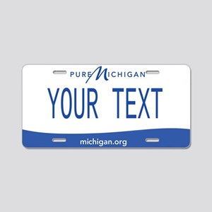 Michigan Custom Aluminum License Plate