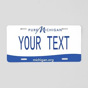 Michigan gifts cafepress michigan custom aluminum license plate negle Choice Image