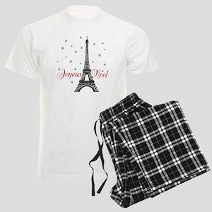 Paris Christmas Pajamas