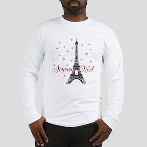 Paris Christmas Long Sleeve T-Shirt