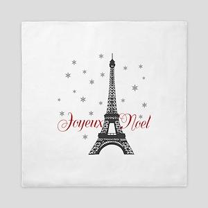 Paris Christmas Queen Duvet