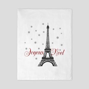 Paris Christmas Twin Duvet