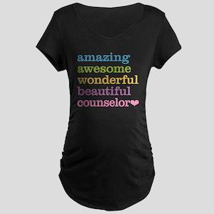 Amazing Counselor Maternity Dark T-Shirt