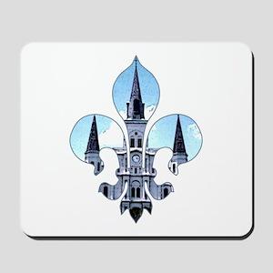 Fleur St. Louis Cathedral Mousepad