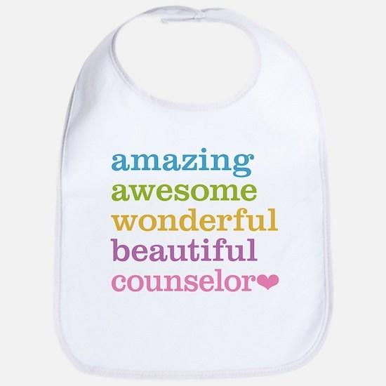 Amazing Counselor Bib