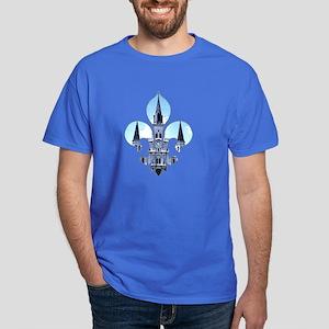 Fleur St. Louis Cathedral Dark T-Shirt