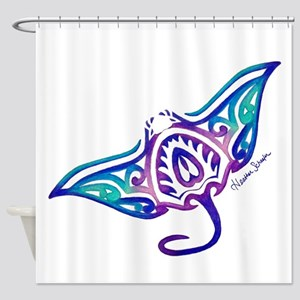 Tribal Manta Shower Curtain