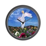 April Birthday Angel : Wall Clock