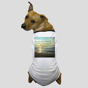 HEBREWS 11:1 Dog T-Shirt