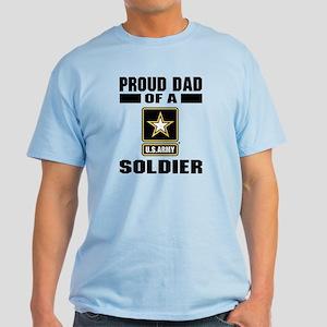 Proud Army Dad Light T-Shirt