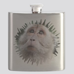 Adorable Monkey, Mask Flask
