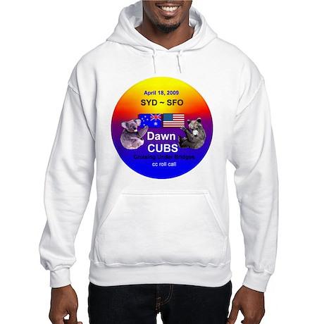 Dawn CUBS Apr. 18, 2009 - Hooded Sweatshirt