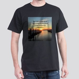 HEBREWS 11:1 Dark T-Shirt