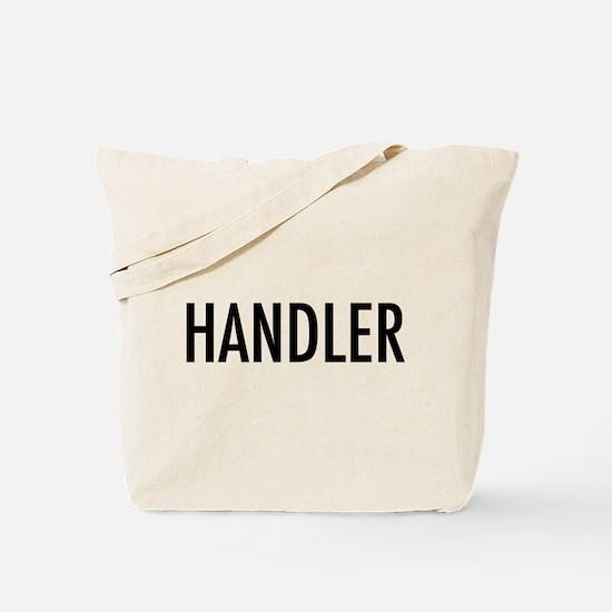 """Pet Word """"Handler"""" Tote Bag"""