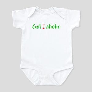 Golfaholic Infant Bodysuit