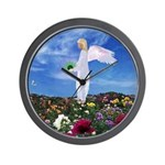 May Birthday Angel : Wall Clock