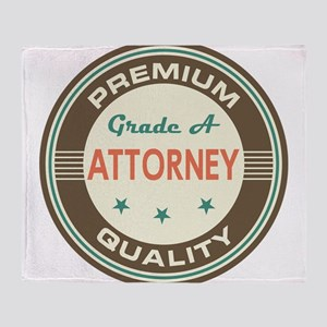 Attorney Vintage Throw Blanket