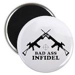 Bad Ass Infidel Magnet