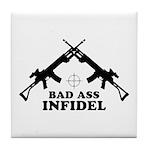Bad Ass Infidel Tile Coaster
