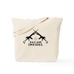 Bad Ass Infidel Tote Bag