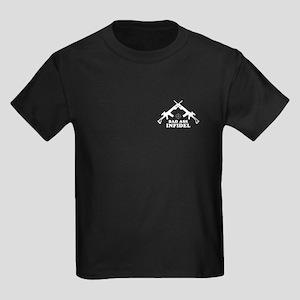 Bad Ass Infidel Kids Dark T-Shirt