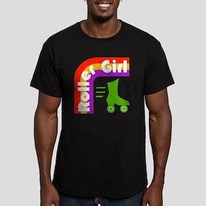 Roller Girl Men's Fitted T-Shirt (dark)